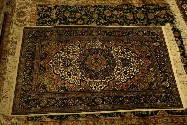 bardzo brudny dywan